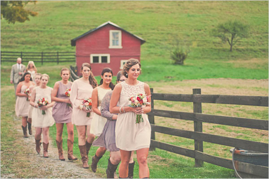 Barn Wedding Accessories